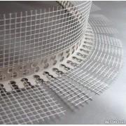 Профиль ПВХ арочный с стеклосеткой 10*15 2,5м